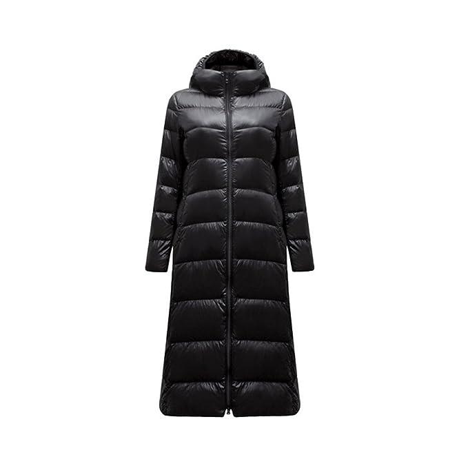 af609cbaf6b Winter Coat Women Ultra Light Down Jacket X-Long Jacket Feather Parka:  Amazon.ca: Clothing & Accessories