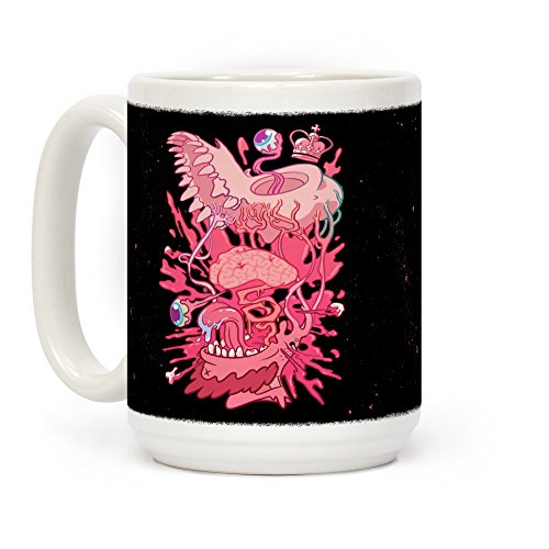 (LookHUMAN Werewolf King White 15 Ounce Ceramic Coffee)