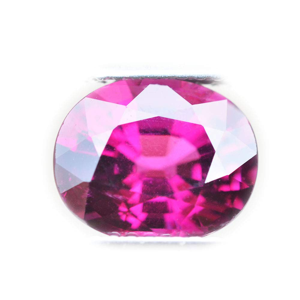 Lovemom 3.90ct Natural Oval Unheated Pinkish-Purple Rhodolite Garnet Tanzania #B