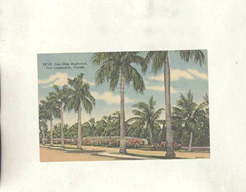1959 Las Olas Boulevard Fort Lauderdale Florida ORIGINAL - Boulevard Olas Los