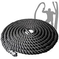 Hardcastle Battle Rope Individuel - 2 Tailles - 10m ou 15m