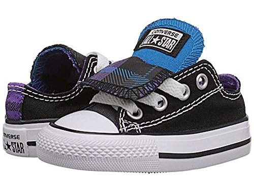 Converse 650065F: Chuck Taylor All Star Plaid Double Tongue Sneaker Kids