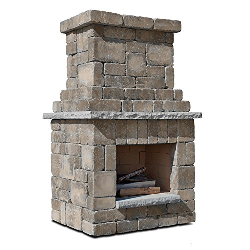 Necessories 4200238 Colonial Outdoor Fireplace in Santa Fe