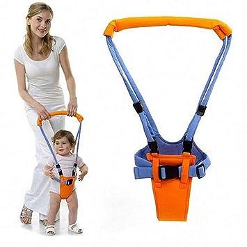 BLUE Lauflernhilfe Gehhilfe f/ür Baby Baby Lauflernhilfen Einstellbare mit Sicherheitsverschluss Stehen Gehen Lernen Helfer Walker f/ür Kinder7-24 Monate