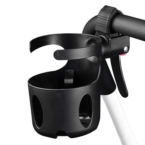 Cochecito soporte de taza, rotación de 360°, abrazadera ajustable diámetro 7.4 pulgadas con