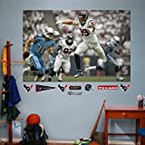 NFL Houston Texans JJ Watt Mural Big Wall Decal