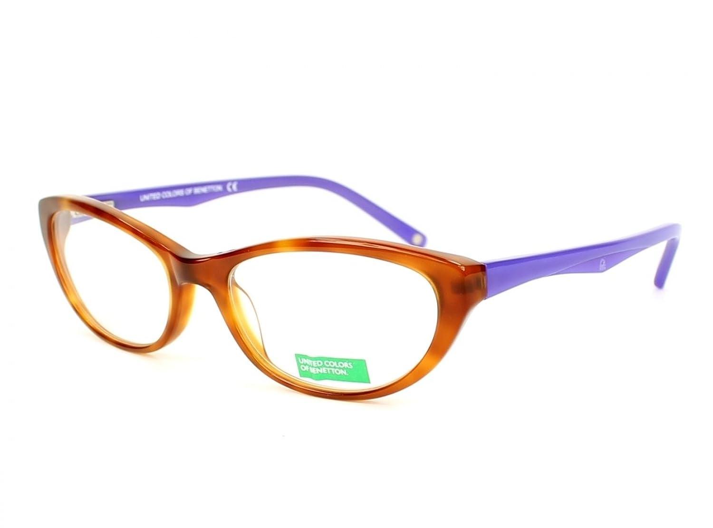 Optical frame Benetton Acetate Havana - Violet (BE468 03)