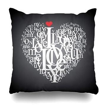 Amazon.com: Decor.Gifts - Funda de almohada con forma de ...