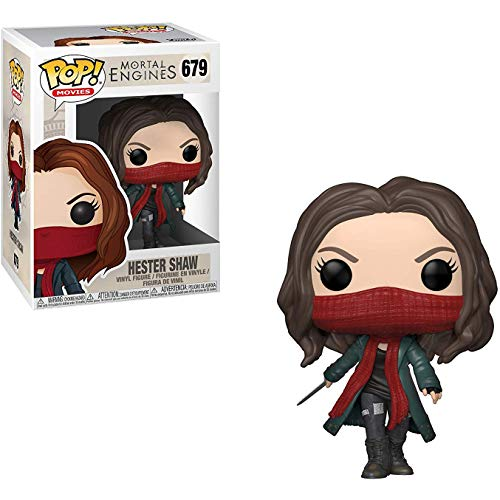 Funko Hester Shaw: Mortal Engines x POP! Movies Vinyl Figure & 1 PET Plastic Graphical Protector Bundle [#679 / 34672 - B]]()