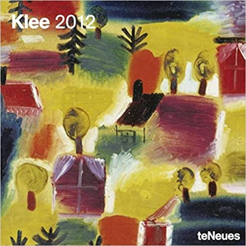 2012 Paul Klee Wall Calendar