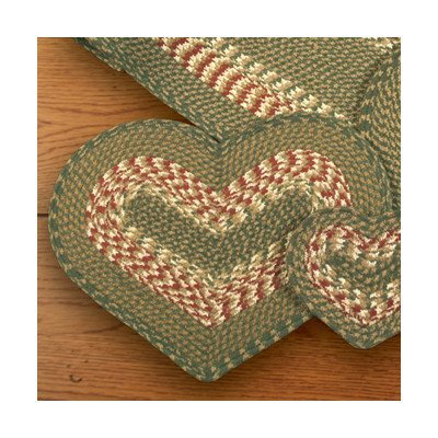 Heart-Placemat-Color-GreenBurgundy