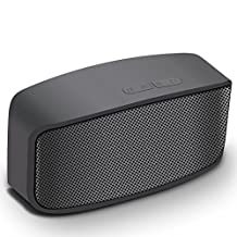 TNSO Portable Wireless Outdoor Bluetooth Speaker,5W Driversf , Enhanced Bass, water Resistant,Beach, Shower & Home