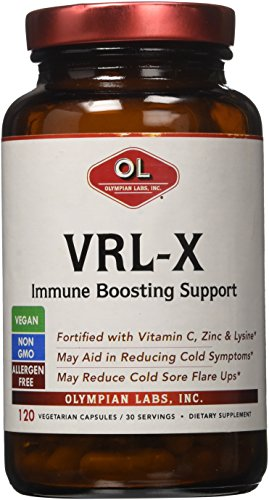 Labs 120 Caps - VRL-X Advanced Immune Support by Olympian Labs, 120 caps 30 servings