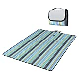 Outdoor Picnic Blanket,LOPEZ Multi-purpose Folding Portable Waterproof and Sandproof Beach Blanket & Mats Picnic Rug,Baby Crawling Mat / Child Play Mat for Camping Hiking Travel BBQ