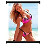 Candice Swanepoel Sexy Model Fabric Wall Scroll Poster (16