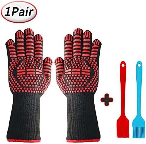 Resistant Barbecue Grilling Silicone Insulated
