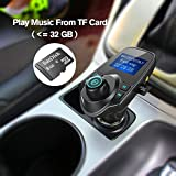 iSunnao Bluetooth FM Radio Transmitter Car