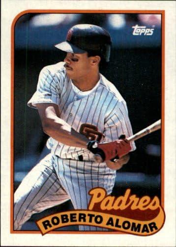 1989 Topps Baseball Card #206 Roberto Alomar S