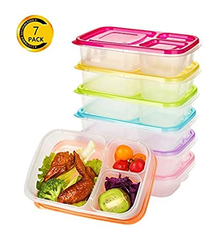 Amazoncom Vivaware Meal Prep Containers with Lids 7 Pack 3