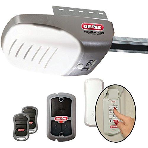 GENIE 37281V Garage Door Opener with 3/4+ HPc DC Chain (Genie Garage Door Opener Smart)