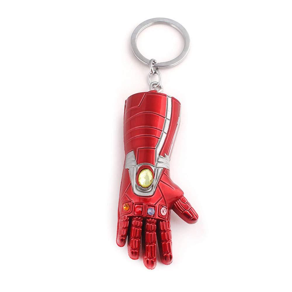 Amazon.com: Llavero de Iron Man Gauntlet con colgante de ...