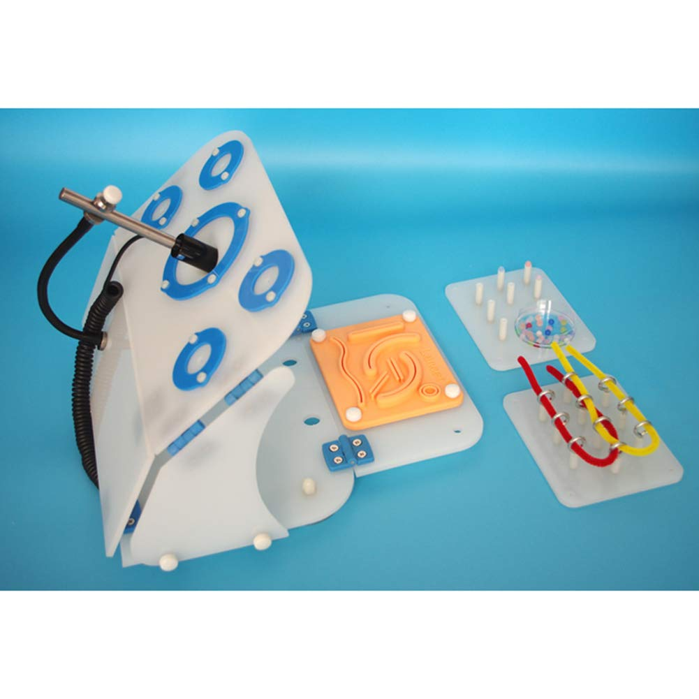 VIEUR Laparoscopic Trainer Simulator Box +3 Training Model + Straight Professional Camera