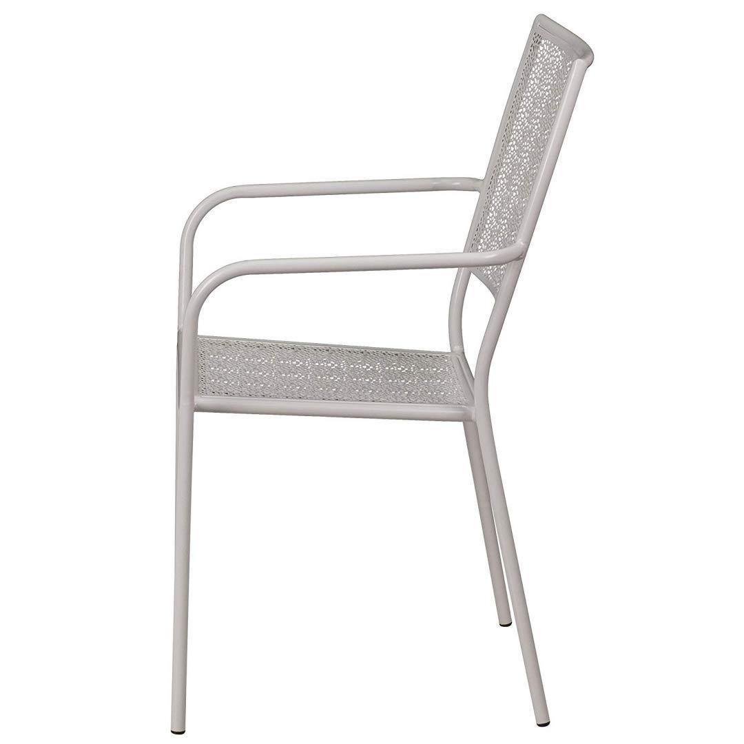 Amazon.com: KLS14 - Juego de 2 sillas de patio con brazos ...