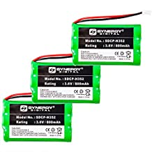 Sanik 3SN-5/4AAA80H-S-J1 Cordless Phone Battery Combo-Pack includes: 3 x SDCP-H352 Batteries