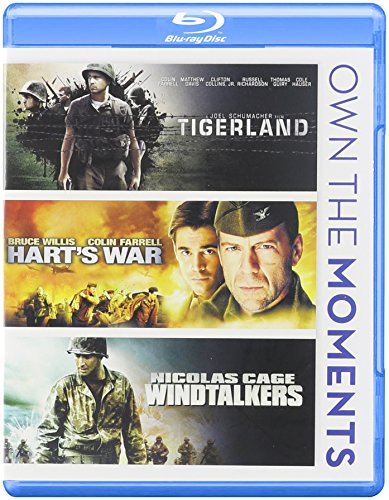 Tigerland / Hart's War / Windtalkers Triple Feature Blu-ray