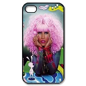 Customized Phone Case for iPhone 4,4S - Nicki Minaj case 2