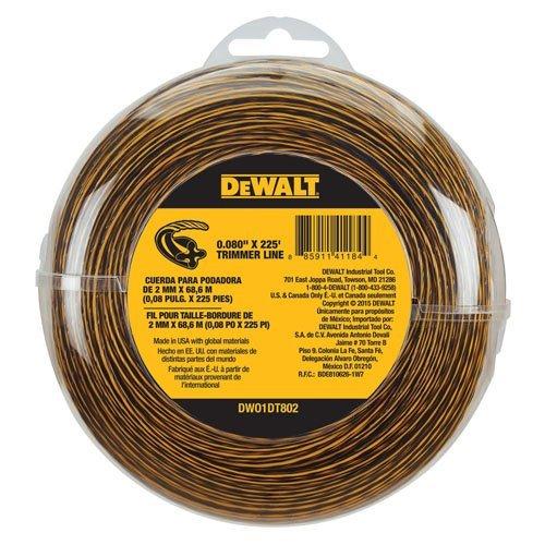 DEWALT-DWO1DT802-String-Trimmer-Line-225-Feet-by-0080-Inch