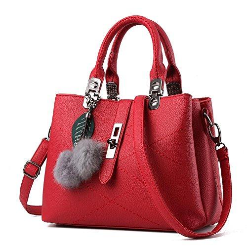 Aoligei Oblique Bag G American Women Cross European Ball Bag Leather And RrxRHn
