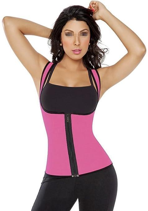SEADEAR Womens Slimming Vest Sports slimming corset waist belt Corset Neoprene Sweat-slimming Tank top for Weight Loss