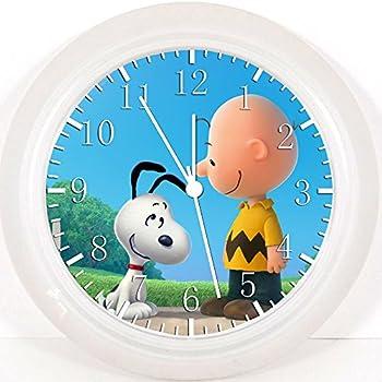 Amazon Com The Peanuts Gang Sound Clock 13 2inches