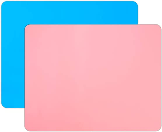Paint Blue 23.6x19.6 Silicone Mat for Crafts Gartful Extra Large Silicone Sheet Nonslip Nonstick Heat-Resistant Crafts Table Protector for Epoxy Jewelry Casting Molds Mat Resin Glitter Slime