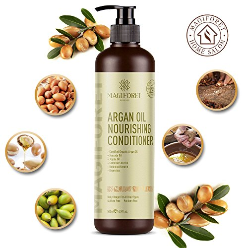 Hair Conditioner, Argan Oil Conditioner, MagiForet Natural H