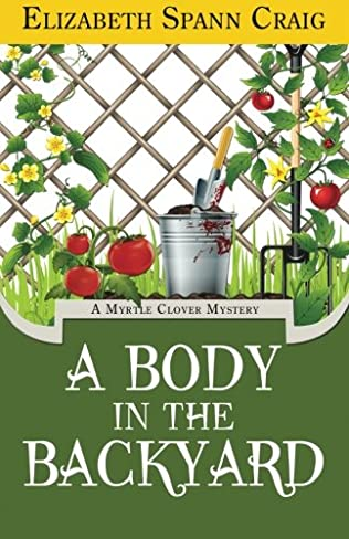 book cover of A Body in the Backyard