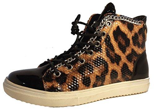 leopardo 3 Hohenlimburg Polacchine W Donna g8f1w