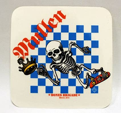 Mouse BONES Powell//Peralta Skateboard Sticker