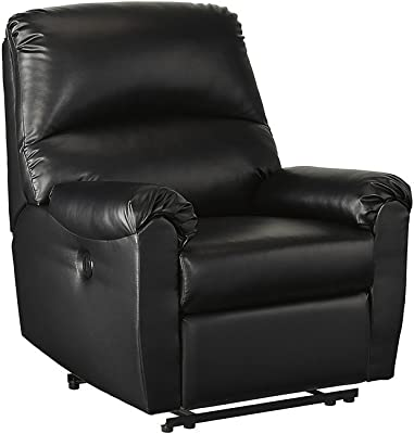Signature Design by Ashley 7630506 Crozier Power Recliner, Black