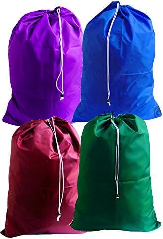 Amazon Com Large Wholesale Laundry Bags Pack Of 100 Color