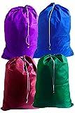 Large Wholesale Laundry Bags, Bulk Lots, Color: Assorted - Size: 30W x 40H