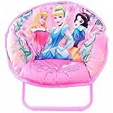 Disney Princess Kids Pink Folding Mini Saucer Chair