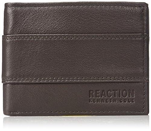01. Kenneth Cole REACTION Men's RFID Blocking Westin Passcase Wallet