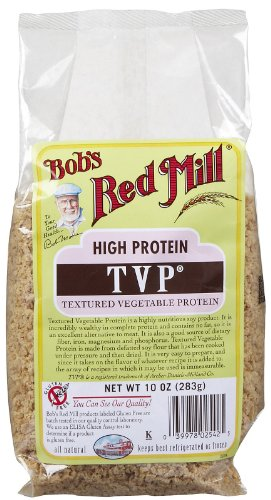 Bob's Red Mill TVP (Textured Vegetable Protein), 10-ounces (Pack of4) ( Value Bulk Multi-pack)