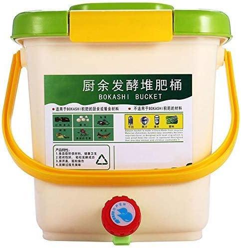N/ Contenedor para compostaje casa jardín fertilizantes orgánicos ...
