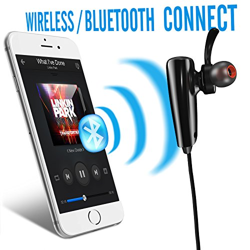 cellbee wave series bluetooth earbuds super battery life with built in mic sports kits. Black Bedroom Furniture Sets. Home Design Ideas