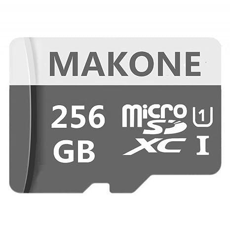 Amazon.com: MAKONE - Tarjeta de memoria micro SD SDXC (256 ...