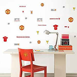 Manchester United Wall Stickers 32 pcs