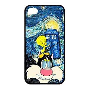 Customize Generic Rubber Material Phone Cover Tweety Bird Back Case Suitable For iPhone 4 iPhone 4s